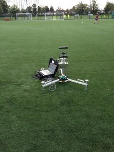 Fulham F.C 3G Pitch Testing