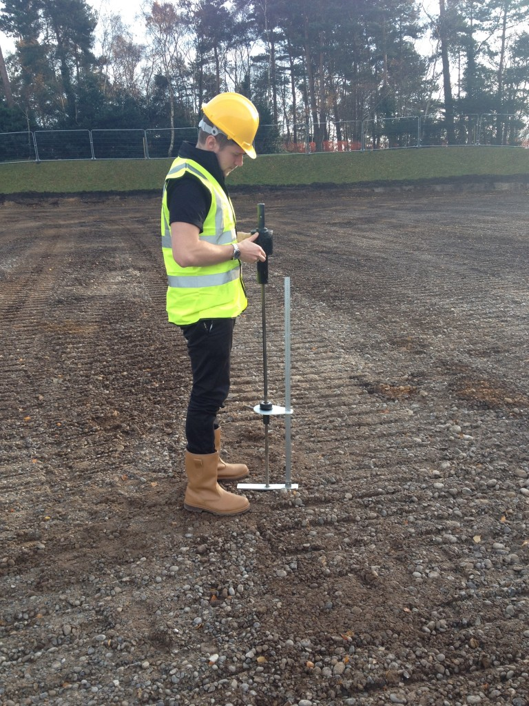 DCP Testing Royal Russell School - Surface Performance Ltd