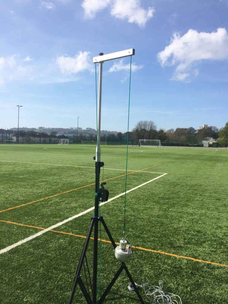 3G Rugby Pitch Testing HIC Critical Fall Height Testing