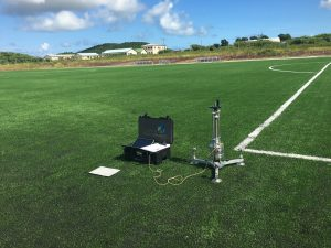 FIFA 3G pitch testing